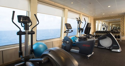 Gym on board