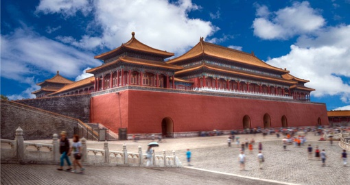 Discover the ancient Forbidden City on your China Tour