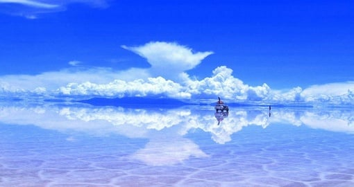 Experience the Salar Uyuni on your trip to Bolivia