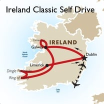 Classic Ireland Self Drive: Dublin to Dublin