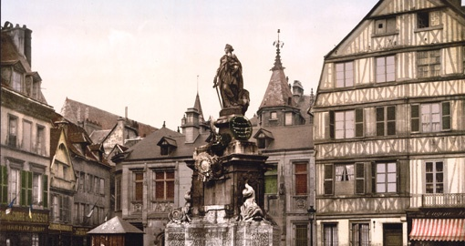 Joan of Arc, Place de la Pucelle, Rouen, France