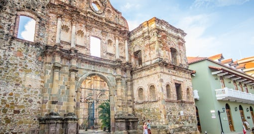 Experience the history of Panama City on your trip to Panama