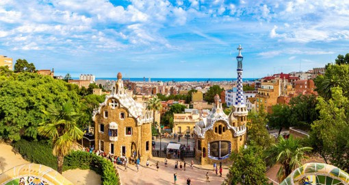 Walk around the Barcelona and enjoy Antoni Gaudi architectures on your next trip to Spain.