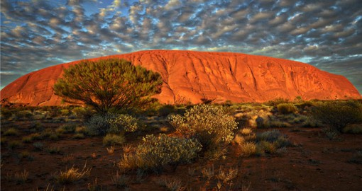 One of the great natural wonders of the world, Uluru/Ayers Rock formed about 550 million years ago