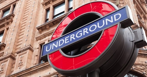 The iconic Underground is a great thing to do in London