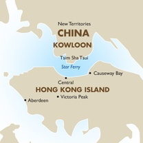 Hong Kong Country Map