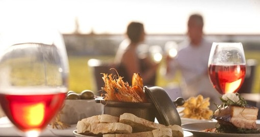 Enjoy Food and Wine in Barossa Valley during your next Australia tours.