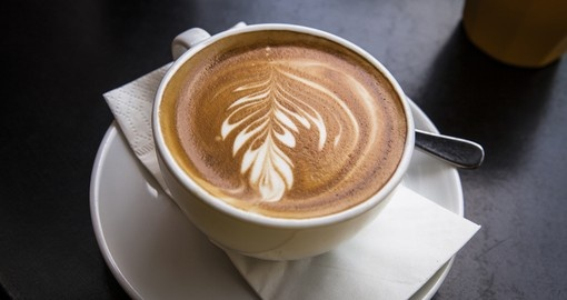Artistic coffee