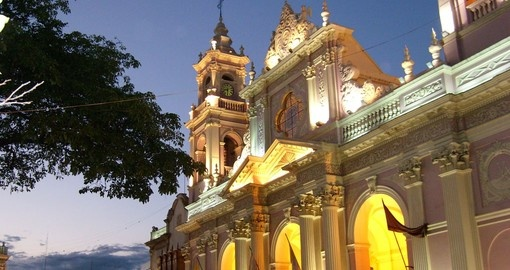 Salta is a city located in mountainous north western Argentina