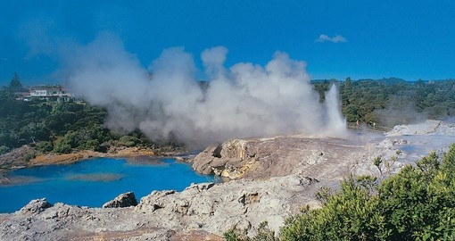 Rotorua – the geothermal playground of New Zealand