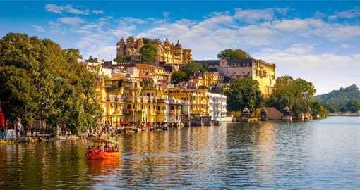 Udaipur, the City of Lakes, is known for its lavish royal residences