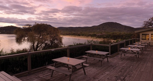 Richardson Bistro at Freycinet Lodge
