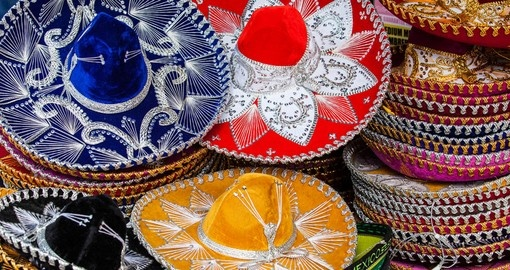 Colorful Sombreros