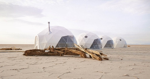 Enjoy your stay at Kachi Lodge Luxury Domes on your Bolivia tour