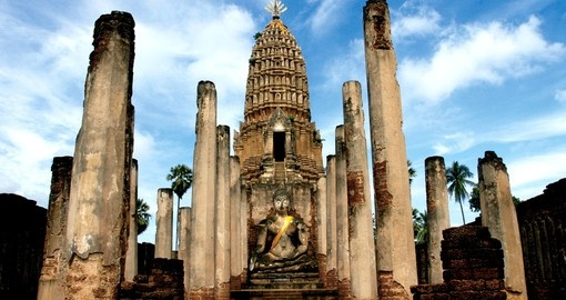 Historical ruins of Old Sukhothai