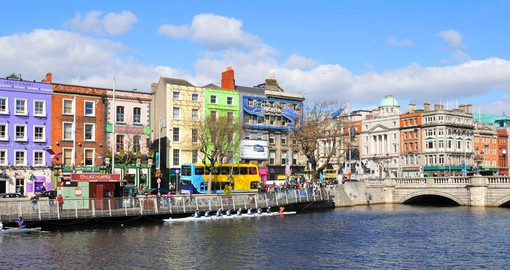 Charming Dublin, Ireland's largest city