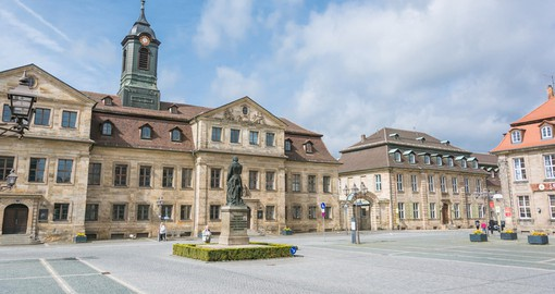 Bayreuth central square