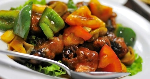 Enjoy colourful Chinese cuisine on your China Tour