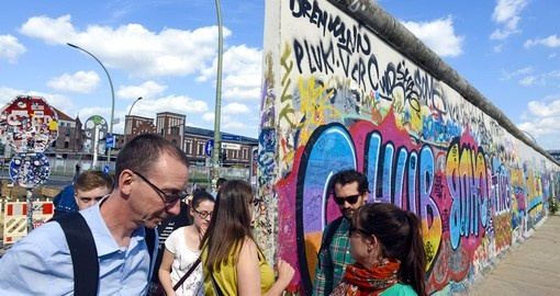 The Berlin Wall - one of the most visited spot on all Germany vacations.
