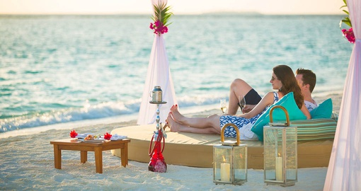 Relaxing and recharging in the Maldives