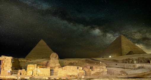 Giza's famed pyramids were built between 2,550 and 2,490 BC