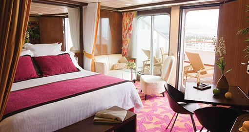 The Suite on the Norwegian Pearl.