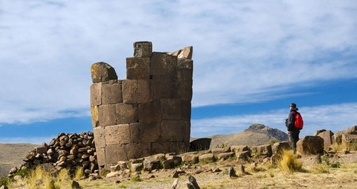 Visit the Sillistauni Funerary Pyres on your Peru Tour
