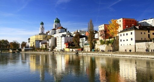 Pictureques Passau is a highlight of a Germany vacation