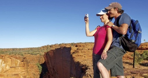 Climb Kings Canyon on your Australia Vacation