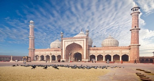 Great Friday Mosque in Delhi