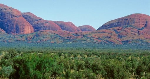 Mount Olga in Australia's Red Centre