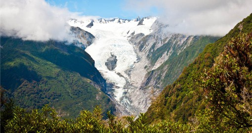Franz Josef is one of New Zealand's largest and most active glaciers
