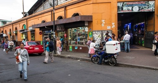 Explore the interesting Central Market in San Jose on your Costa Rica Tour