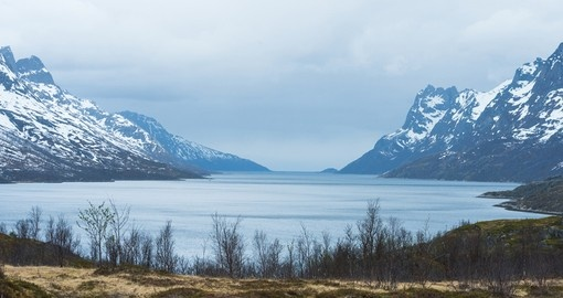 Mountains in the north of Norway, Tromso
