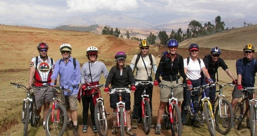 Mountain Bike in the Sacred Valley on your Peru tour