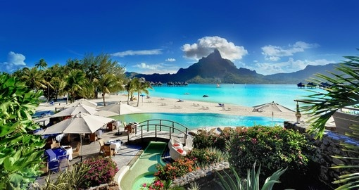 Enjoy this magical stay at Le Meridien Bora Bora during your next Tahiti escape.