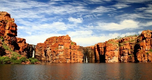 King George Falls in the Kimberley