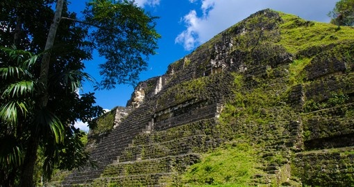 Visit the Tikal Ruins on your trip Guatemala on