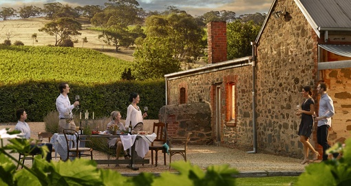 Visit the beautiful Barossa Valley