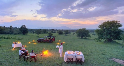 Engage in the original spirit and essence of an African safari