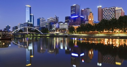 Tour the city of Melbourne