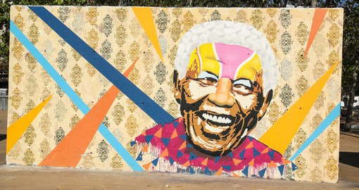 Tribute Mural to Nelson Mandela