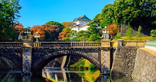 The Imperial Palace is home to the Emperor of Japan