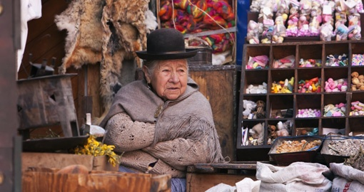 Witches Market la Paz Bolivia