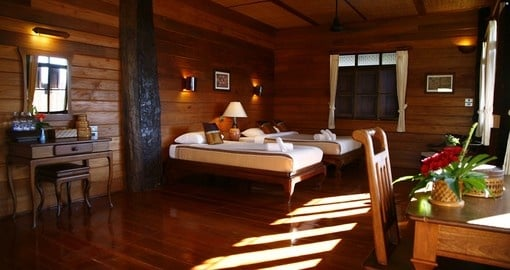 Your private room at Khum Lanna Lodge