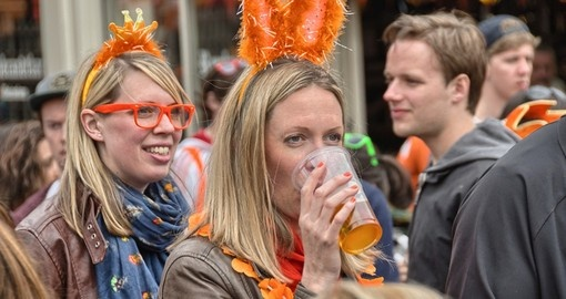 Celebrating Queen's Day