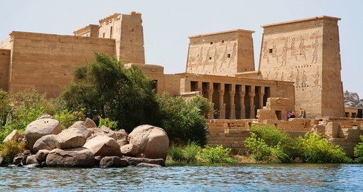 Visit and explore Temple of Philae at Aswan on your next Egypt tours.