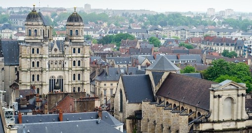 Visit traditional villages such as Dijon on your France Tour