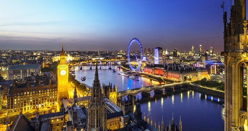 Visit many scenic sights perfect to take lot of pictures on your London Vacation