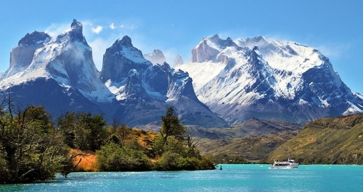 Your Chile vacation features Torres Del Paine